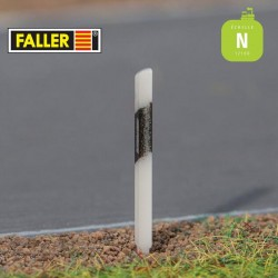 Balises bord route (20 pcs) N Faller 272910 - Maketis