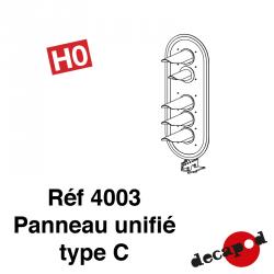 Unified panel type C H0 Decapod 4003 - Maketis