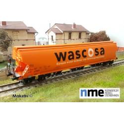 Wagon céréalier Tagnpps 130m3 WASCOSA orange Ep VI HO NME 508620 - Maketis