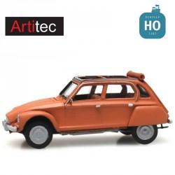 Citroën Dyane orange toit ouvert HO Artitec 387.438 - Maketis