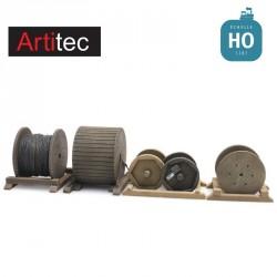 Chargement de tourets de câbles HO Artitec 48780171