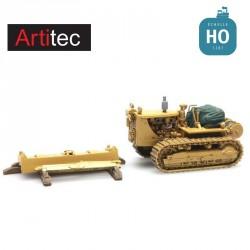Chargement Bulldozer + lame HO Artitec REE