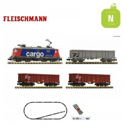 Coffret Digital Z21 Fleischmann N Train de marchandises CFF Ep V 931893 - Maketis