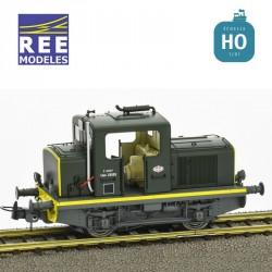 Locotracteur diesel MOYSE 32 TDE SNCF Vert 301 Analogique HO REE MB 078
