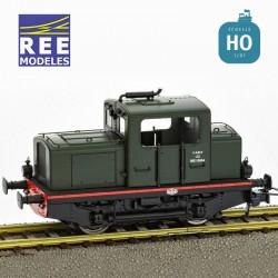 Locotracteur diesel MOYSE 32 TDE Origine, SNCF Vert 306 Digitale son HO REE MB-050S