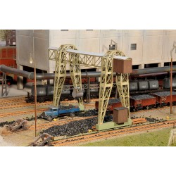 "Gantry crane ""Carl Urbach"" - Joswood 17005 - MAKETIS"