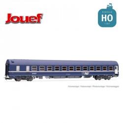 "Wagon-lit MU 1973 Bleu ""Nouille"" EP IV HO Jouef HJ4142 - Maketis"