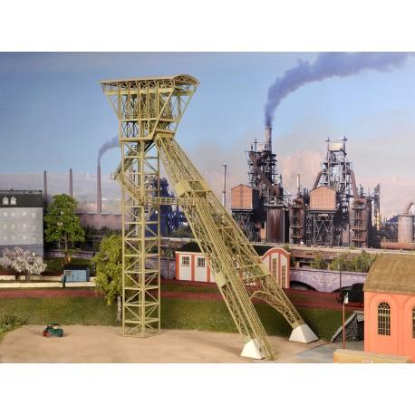 """Chevalement de mine """"Achenbach"""" 1/2 - Joswood 17010 - MAKETIS"""