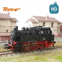 Locomotive à vapeur BR80 DB ep III Analogique HO Roco 63338