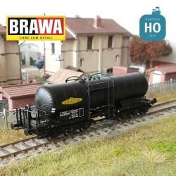 Wagon citerne 6 essieux Scywf SNCF Simotra Ep III HO Brawa 50505 - Maketis