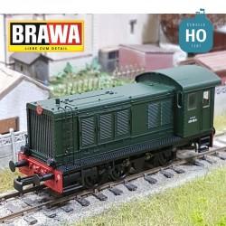 H0 Diesel loco 030 SNCF, Ep III, DC EXTRA Brawa 41626 - Maketis