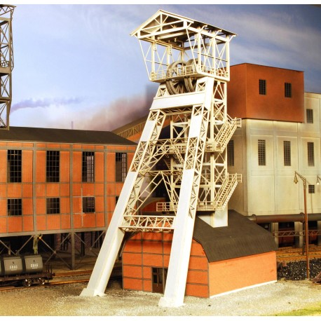 """Chevalement de mine """"Achenbach"""" 4 - Joswood 17018 - MAKETIS"""
