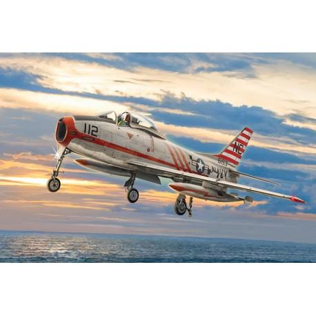 Avion North American FJ-2/3 Fury 1/48 Italeri 2811 - Maketis