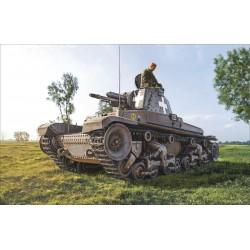 Char Panzerkampfwagen et infanterie 1/72 Italeri 7084 - Maketis
