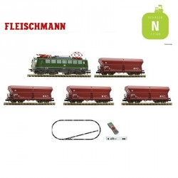 Coffret Digital Z21 Fleischmann N Train de marchandises DB Ep IV 931894 - Maketis