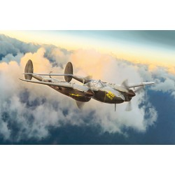 Avion P-38J Lightning 1/72 Italeri 1446