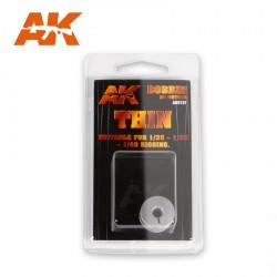 Bobine de gréement élastique fine 1/35, 1/32, 1/48 AK Interactive AK9137 - Maketis