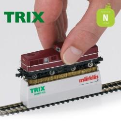 Brosse de nettoyage pour roues de locomotive HOe, N ou Z Trix 66623