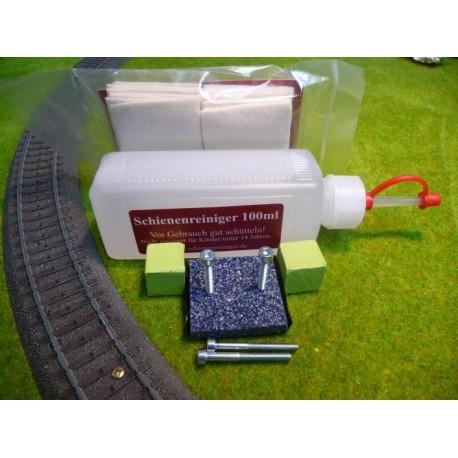 Set complet Schienenreiniger à embarquer sur wagon nettoyeur