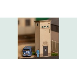 Poste transfo EDF cabine haute HO Cités-miniatures ED-025-2-HO