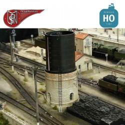 Stein-Wasserturm 200m3 im Bausatz H0 PN Sud Modélisme 8712 - Maketis