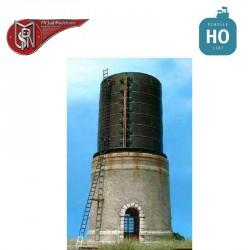 Verputzter Wasserturm 200m3 H0 PN Sud Modélisme 8713 - Maketis