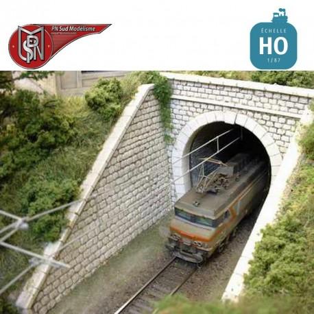 Single track Portal H0 PN Sud Modelisme 8715 - Maketis