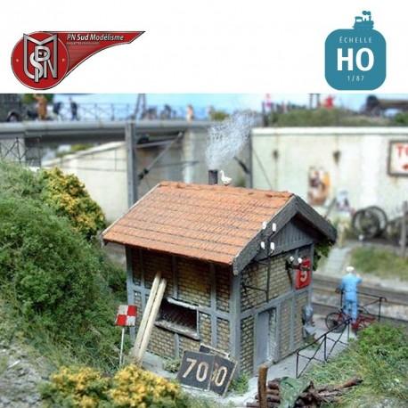 Roadman's house H0 PN Sud Modelisme 8718 - Maketis