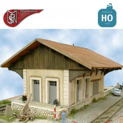 Aubagne type PLM goods hall H0 PN Sud Modelisme 8720 - Maketis