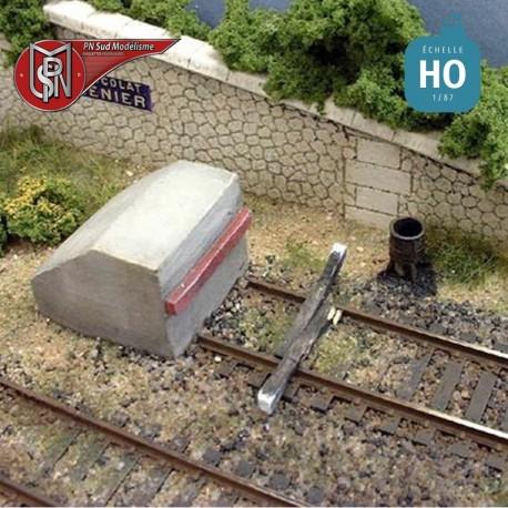 Railway concrete knocker (2 pcs) H0 PN Sud Modelisme 8724 - Maketis