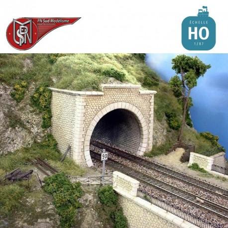 Tunnel deux voies HO PN Sud Modélisme 8737 - Maketis