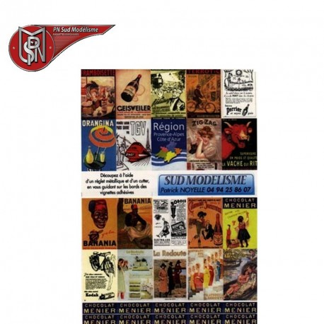 Advertising poster H0 PN Sud Modelisme 8748 - Maketis
