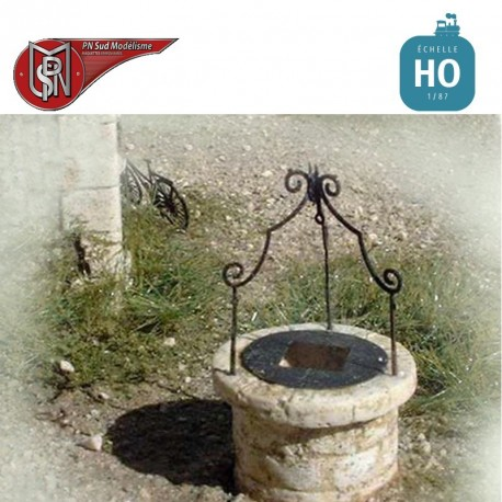 Small Well (4 pcs) H0 PN Sud Modelisme 8759 - Maketis