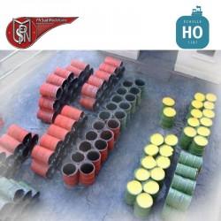 Oil drums H0 PN Sud Modelisme 8760 - Maketis