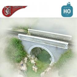 Small 1 lane bridge H0 PN Sud Modelisme 8762 - Maketis
