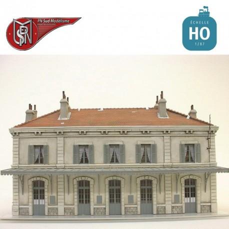 Gare 5 portes PLM HO PN Sud Modélisme 8766 - Maketis