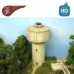 Wasserturm aus Beton H0 PN Sud Modélisme 8768 - Maketis