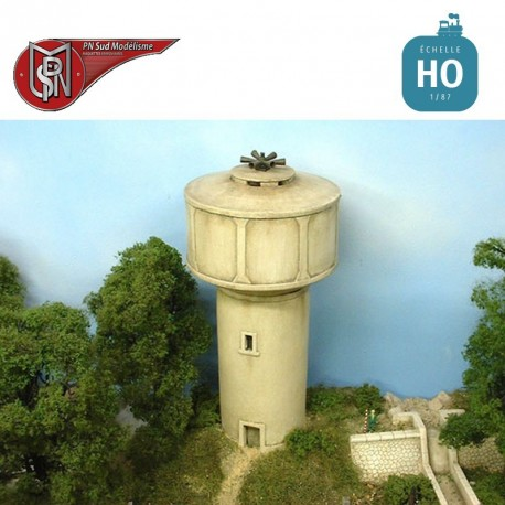 Concrete water tower H0 PN Sud Modelisme 8768 - Maketis