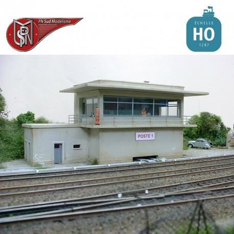 Poste Aiguillage unifié SNCF HO PN Sud Modélisme 8778 - Maketis