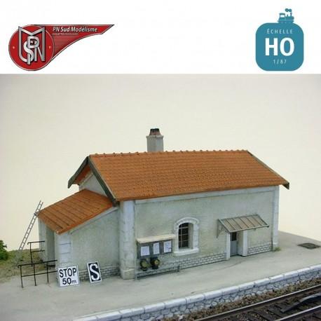 Lampstore for depot and station H0 PN Sud Modelisme 8785 - Maketis