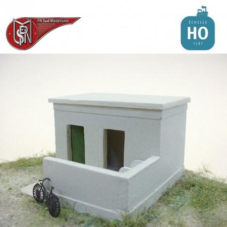 WC de dépôt HO PN Sud Modélisme 8786 - Maketis