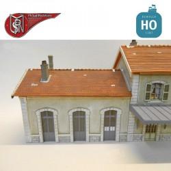 Annex 3 station doors H0 PN Sud Modelisme 8793 - Maketis