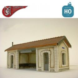 Platform shelter for light fittings H0 PN Sud Modelisme 8797 - Maketis