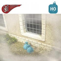 Müllsäcke (12 St) H0 PN Sud Modélisme 87100 - Maketis