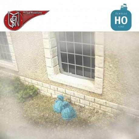 Garbage bags (12 pcs) H0 PN Sud Modelisme 87100 - Maketis