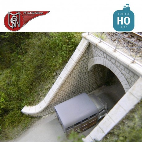 Roadway Culvert (2 pcs) H0 PN Sud Modelisme 87112 - Maketis