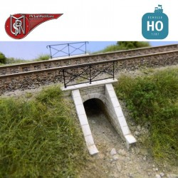 Aqueduc de talus (2 pcs) HO PN Sud Modélisme 87113 - Maketis