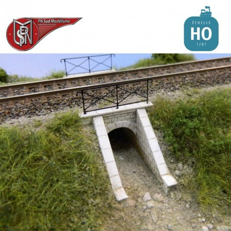 Embankment aqueduct (2 pcs) H0 PN Sud Modelisme 87113 - Maketis