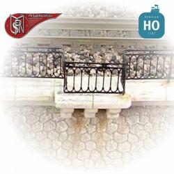 Geländer für Viadukt H0 PN Sud Modélisme 87701 - Maketis