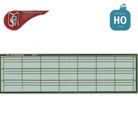 Modern SNCF railings H0 PN Sud Modelisme 87707 - Maketis